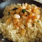 crevettes et basilic