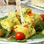omelette roulée, recette facile