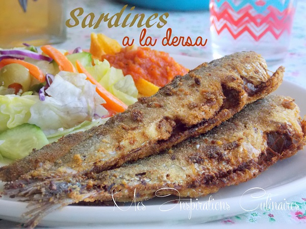 sardines bel dersa sardines frites a l alg rienne le blog cuisine de samar. Black Bedroom Furniture Sets. Home Design Ideas