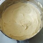 egaliser la creme au beurre