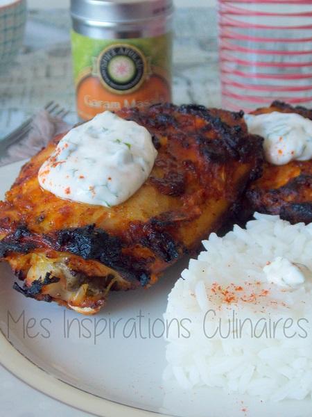 poulet tandoori cuisine indienne le blog cuisine de samar. Black Bedroom Furniture Sets. Home Design Ideas