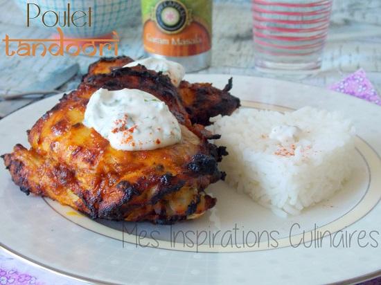 Poulet tandoori {cuisine indienne}
