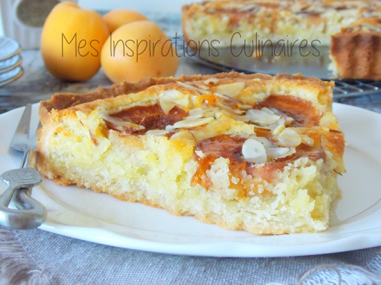 Tarte aux abricots {Bakewell}