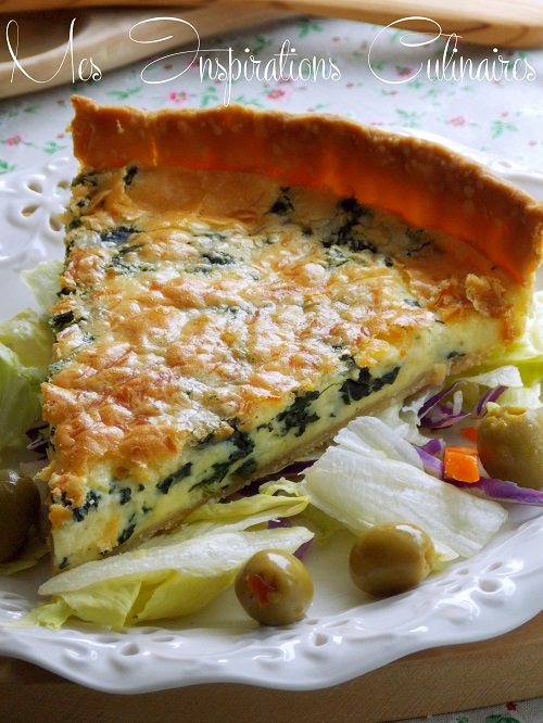 Tarte Aux Epinards Facile Le Blog Cuisine De Samar