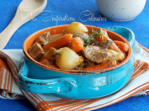 boeuf carotte recette à l'ancienne