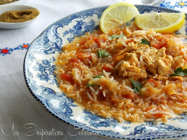 soupe au poulet et au riz 1