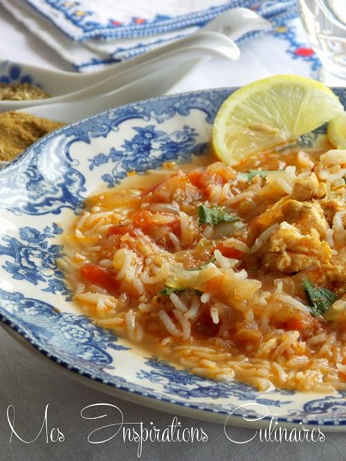 soupe de poulet au riz 1