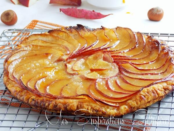 tarte caramelisee aux pommes 1
