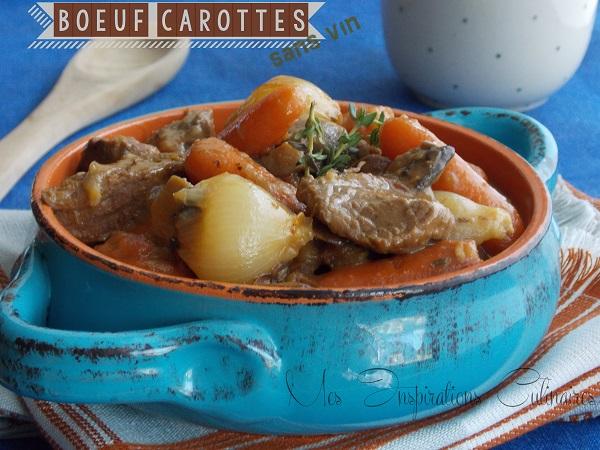 boeuf carotte sans vin 1