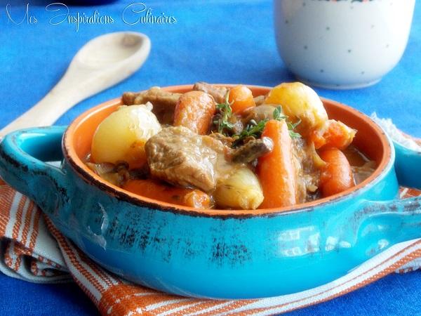boeuf carottes sans vin