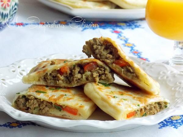 Cr pes turques g zleme a la viande hach e le blog - Recette de cuisine algerienne traditionnelle ...