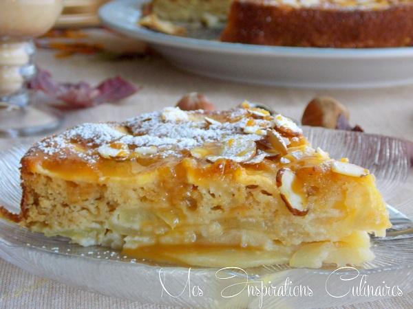 Gâteau invisible aux pommes recette facile
