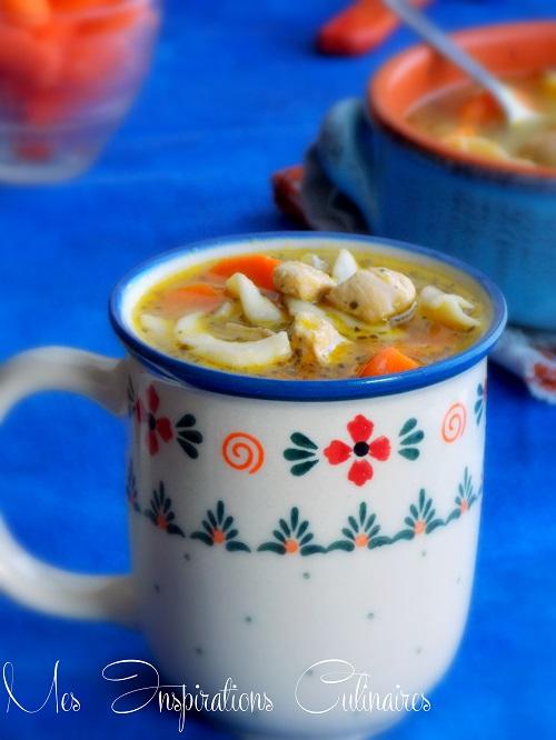 Soupe aux nouilles chinoises