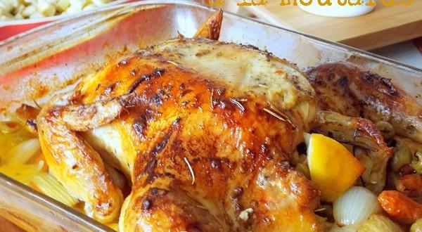 Poulet Au Four A La Moutarde Le Blog Cuisine De Samar