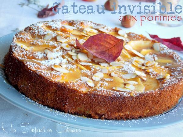 recette gateau invisible aux pommes 1