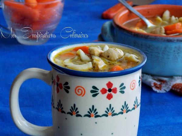 soupe chinoise au poulet 1