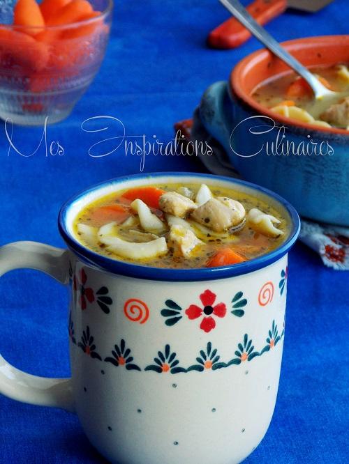 soupe de poulet aux nouilles 1