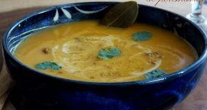 soupe veloutee de potimarron au curry 1