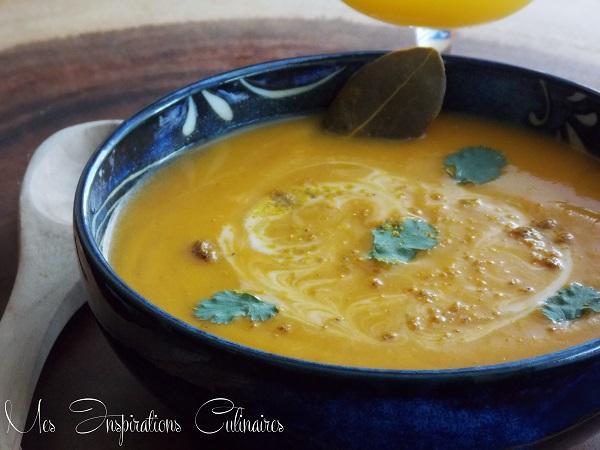 soupe veloutee de potimarron1