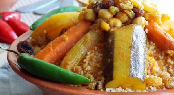 Couscous tunisien le blog cuisine de samar - Recette de cuisine tunisienne facile et rapide en arabe ...