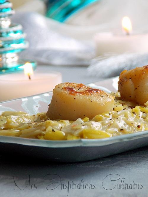 recette fondue de poireaux a la moutarde