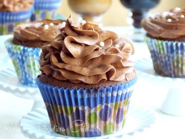 Cupcakes moelleux au chocolat
