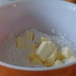 sabler la farine et le beurre