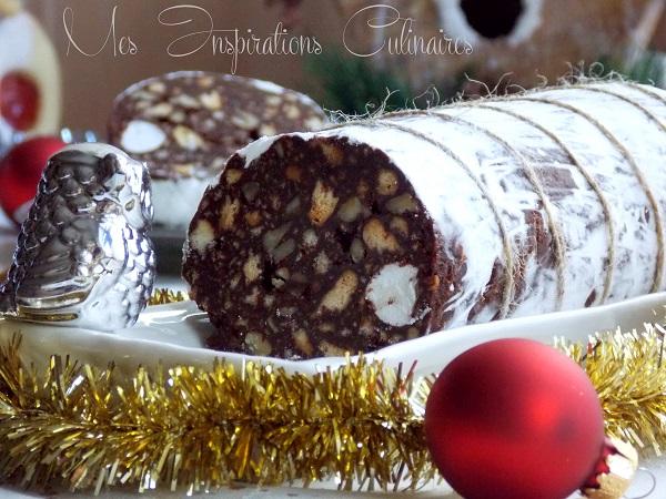 Saucisson Au Chocolat Maison Le Blog Cuisine De Samar