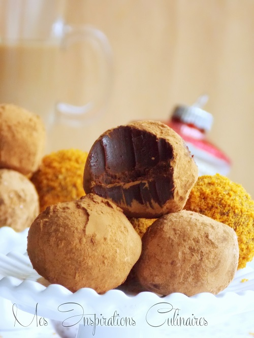 truffe au chocolat et au cafe 1