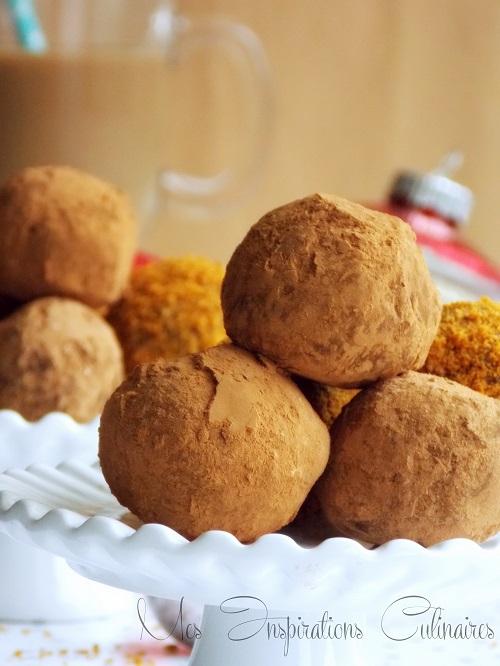 Les truffes au chocolat noir café, recette facile