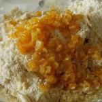 ajouter les oranges confites