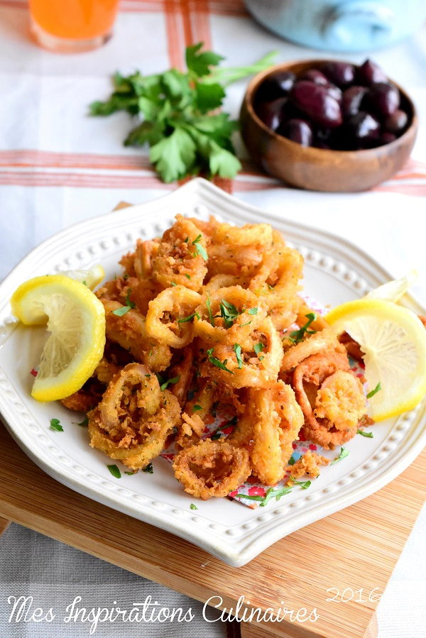 calamars frits tapas espagnole 1