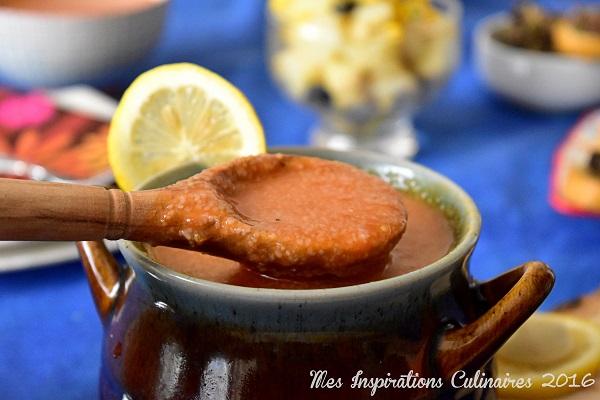 Chorba smid - soupe de semoule