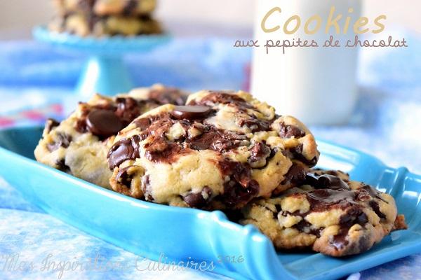 cookies aux pepites de chocolat maison 1