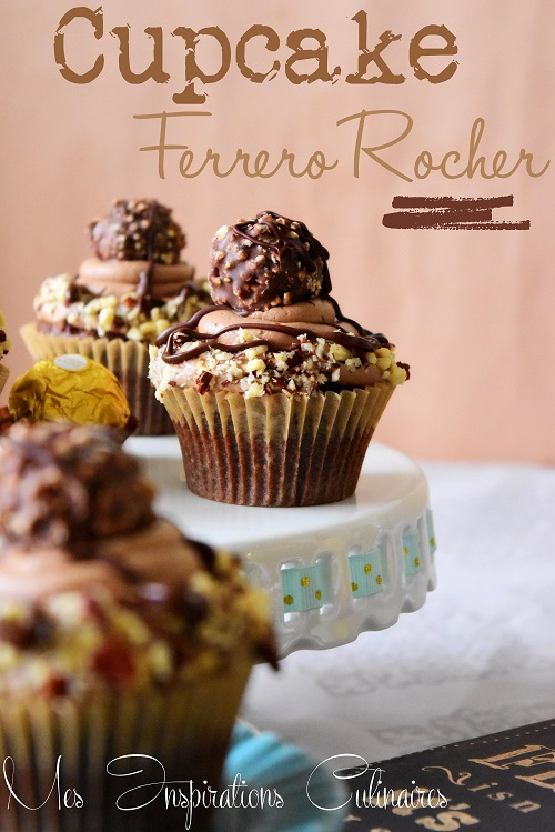 cupcakes au ferrero rocher