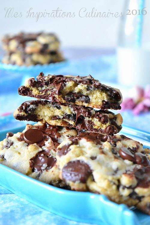 recette cookies aux pépites de chocolat parfait