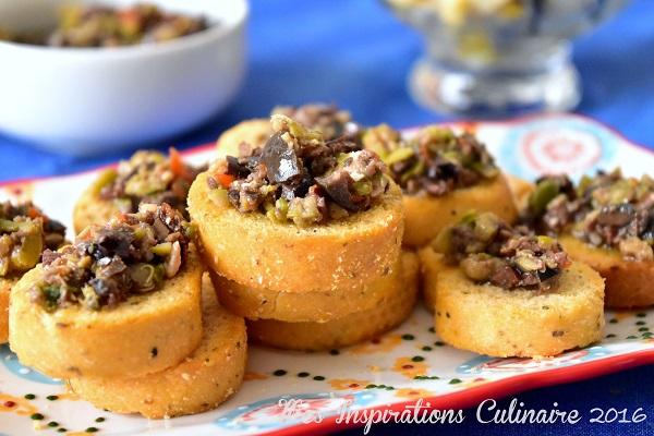 recette tapenade maison olives et capres 1