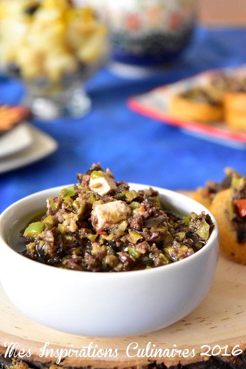 tapenade d'olives noires recette facile