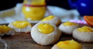 biscuits empreintes romarin clementine curd 1