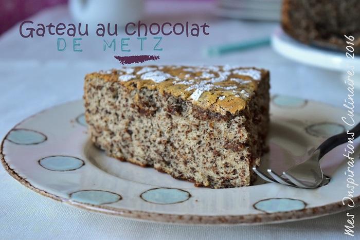 gateau chocolat de Metz 1