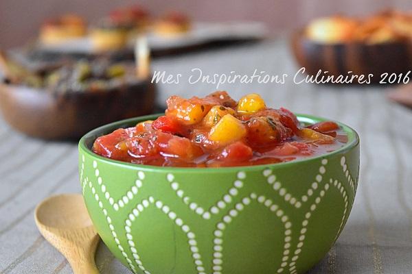 salsa mangue et tomates 1