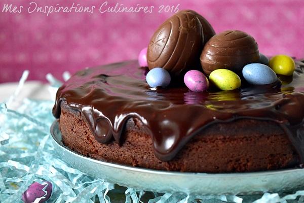 Gâteau au yaourt au chocolat moelleux