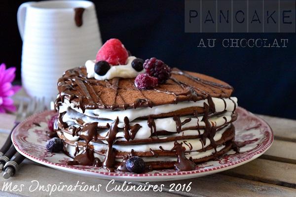 pancake moelleux au chocolat 1
