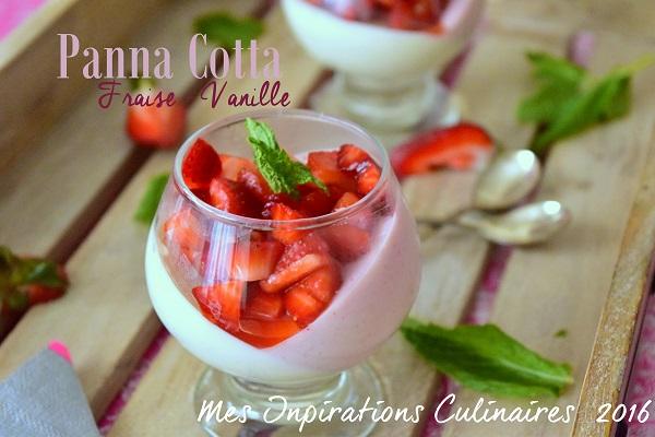 panna cotta fraise vanille 1