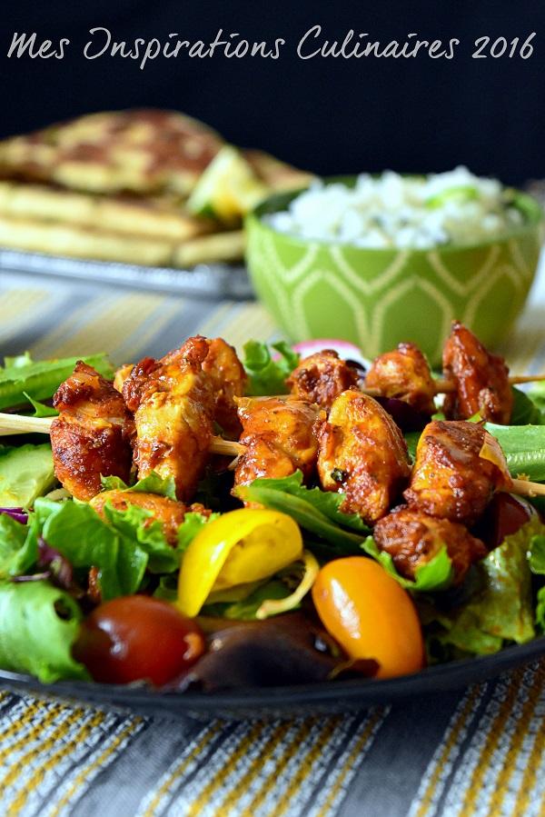 poulet tikka massala Kebab 1