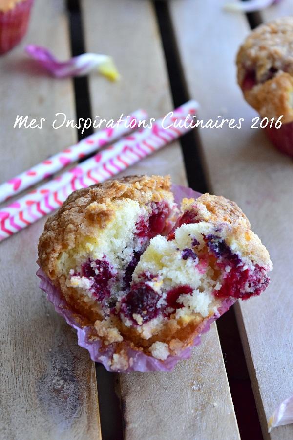 recette muffin aux myrtilles moelleux 1
