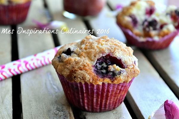 recette muffins aux myrtilles 1