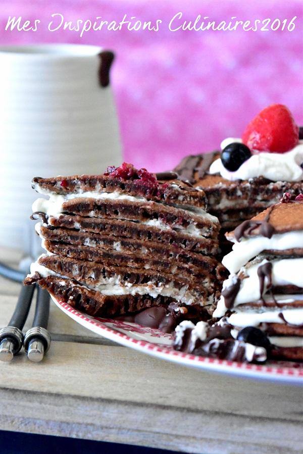 Pancakes au chocolat : recette facile