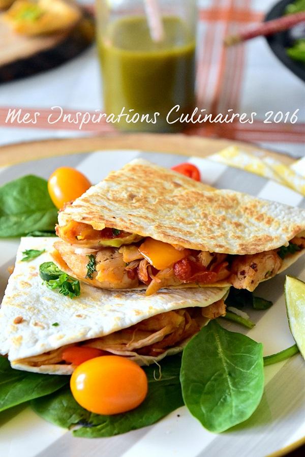recette quesadillas au poulet et fromage 1