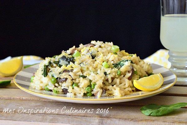 risotto de legumes printaniers 1